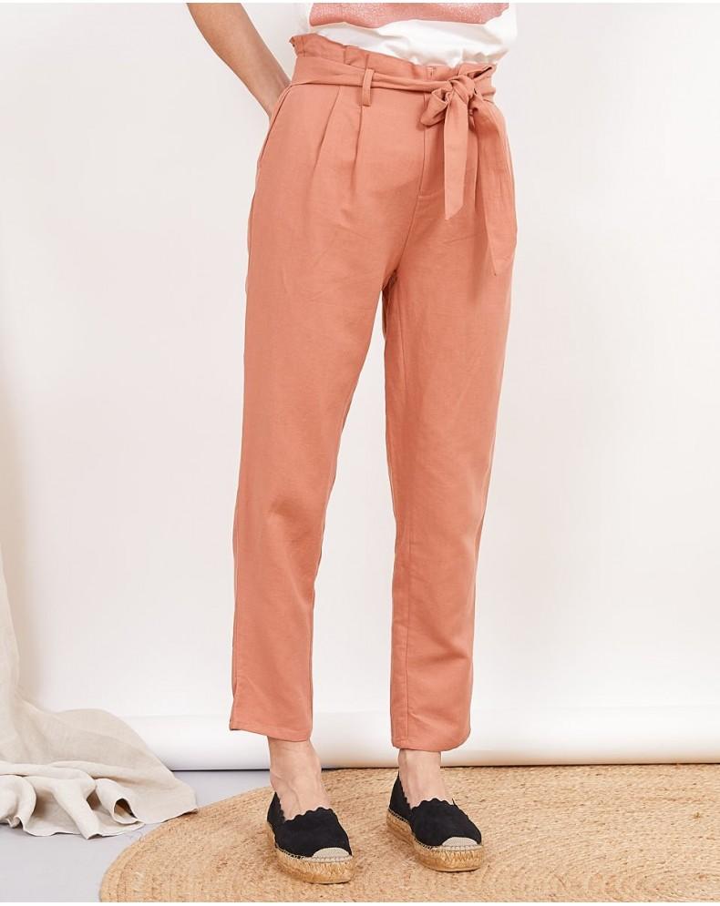 Pantalón lazada Limber rose