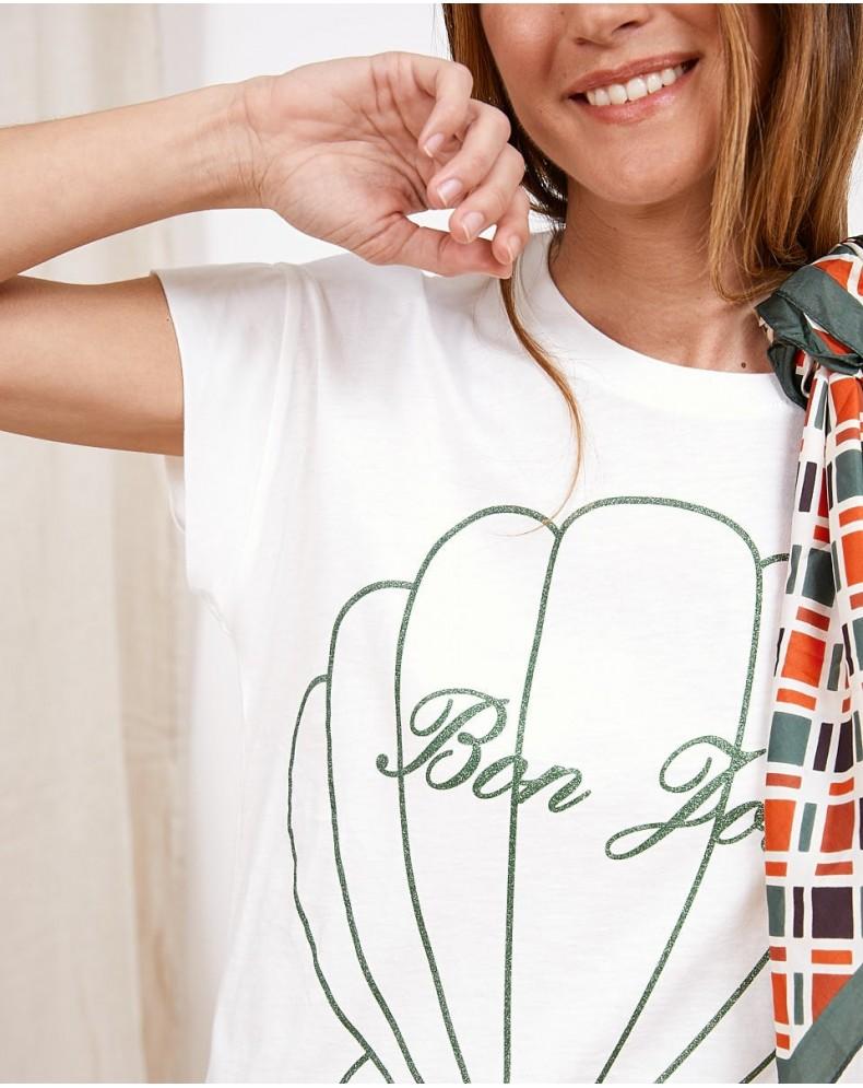 Camiseta mensaje Bon Jour
