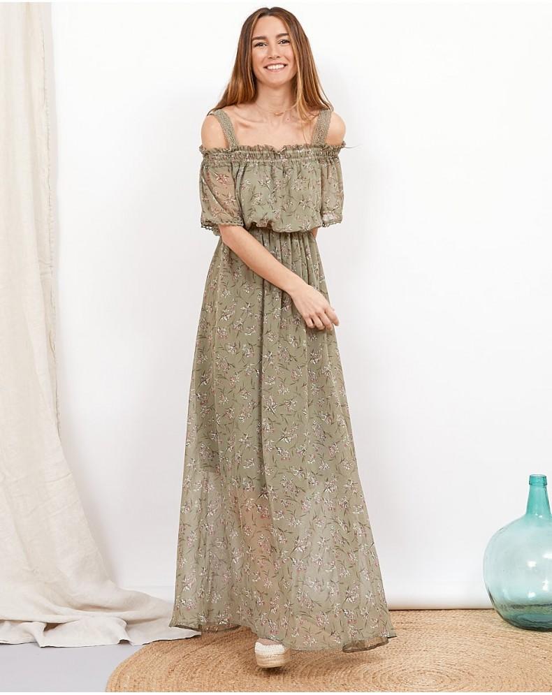 Vestido largo Beatrice