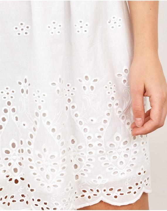 Vestido corto batista Luisella
