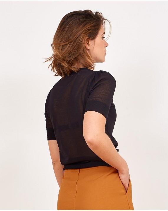 Camiseta essential cuello redondo