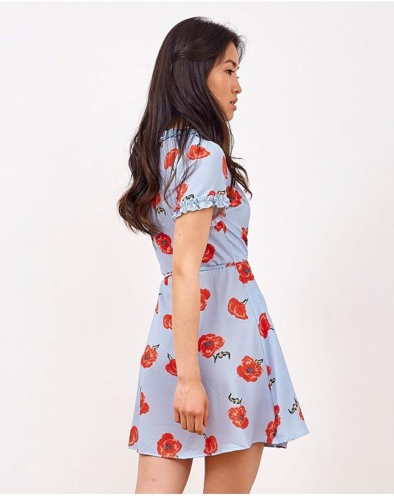 Vestido amapolas Sofía