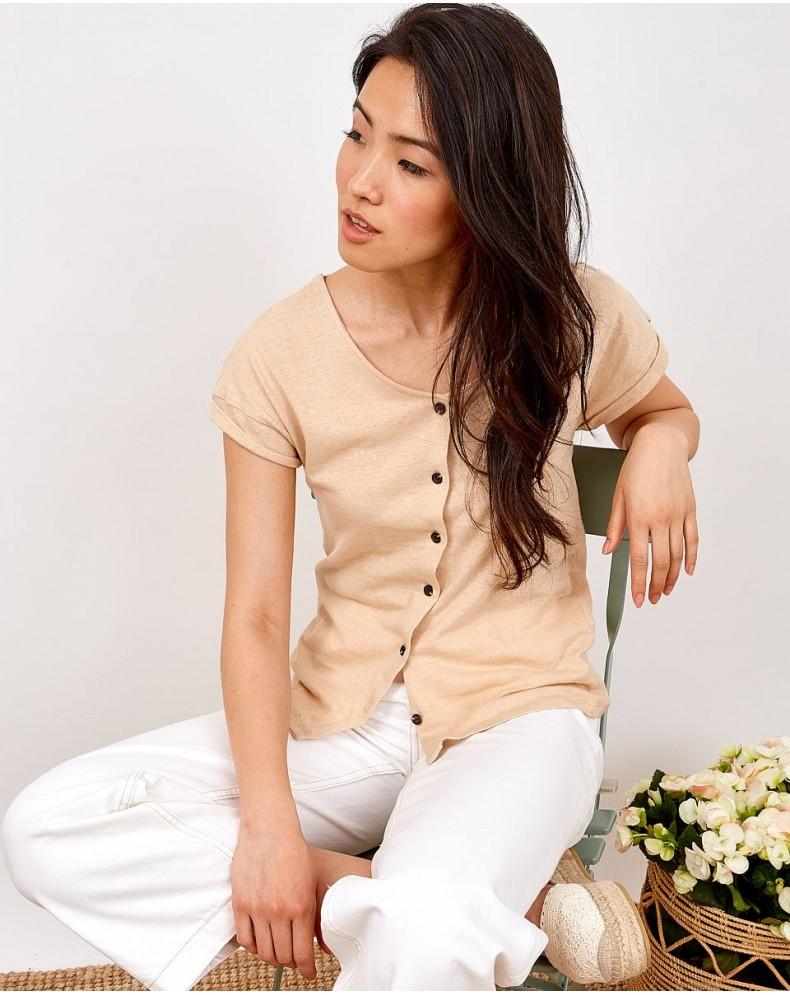 Camiseta botones Camile