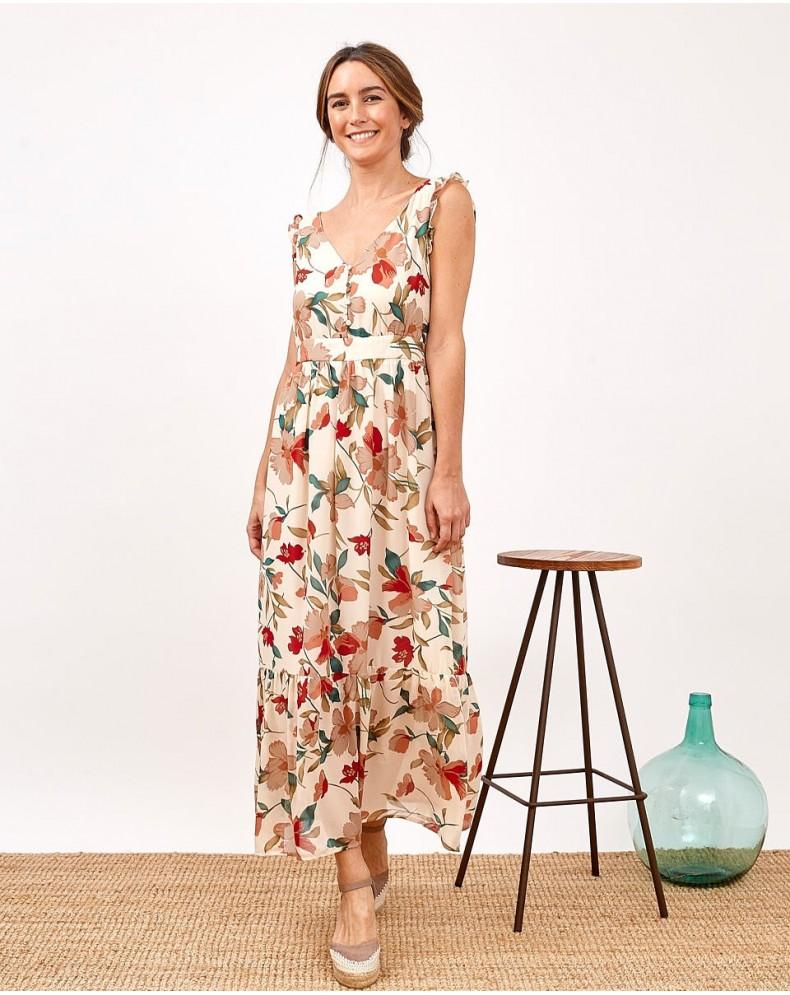 Vestido flores Adriana