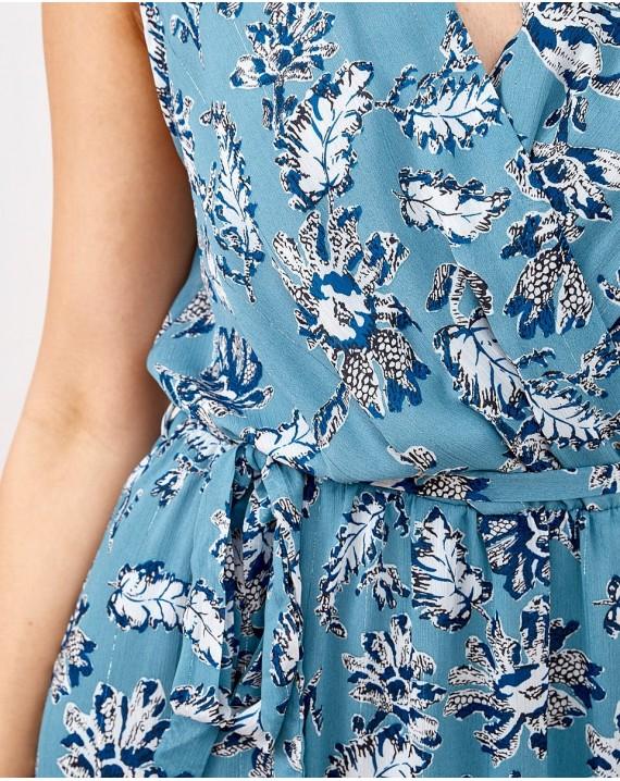 Vestido azul Elia