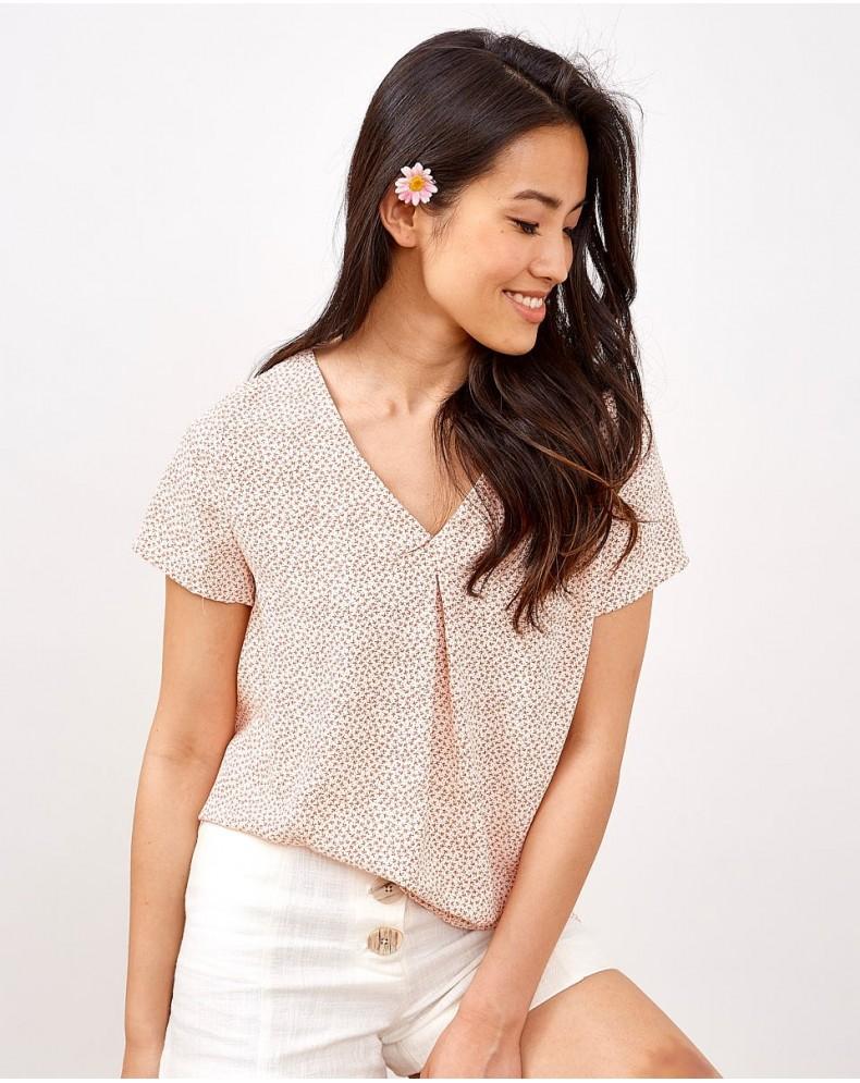Camiseta flores Daisy