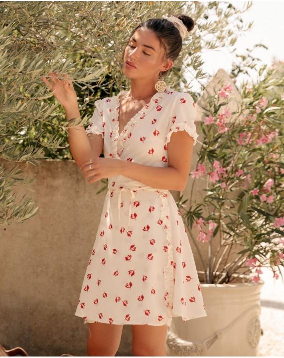Vestido rosas Sofía