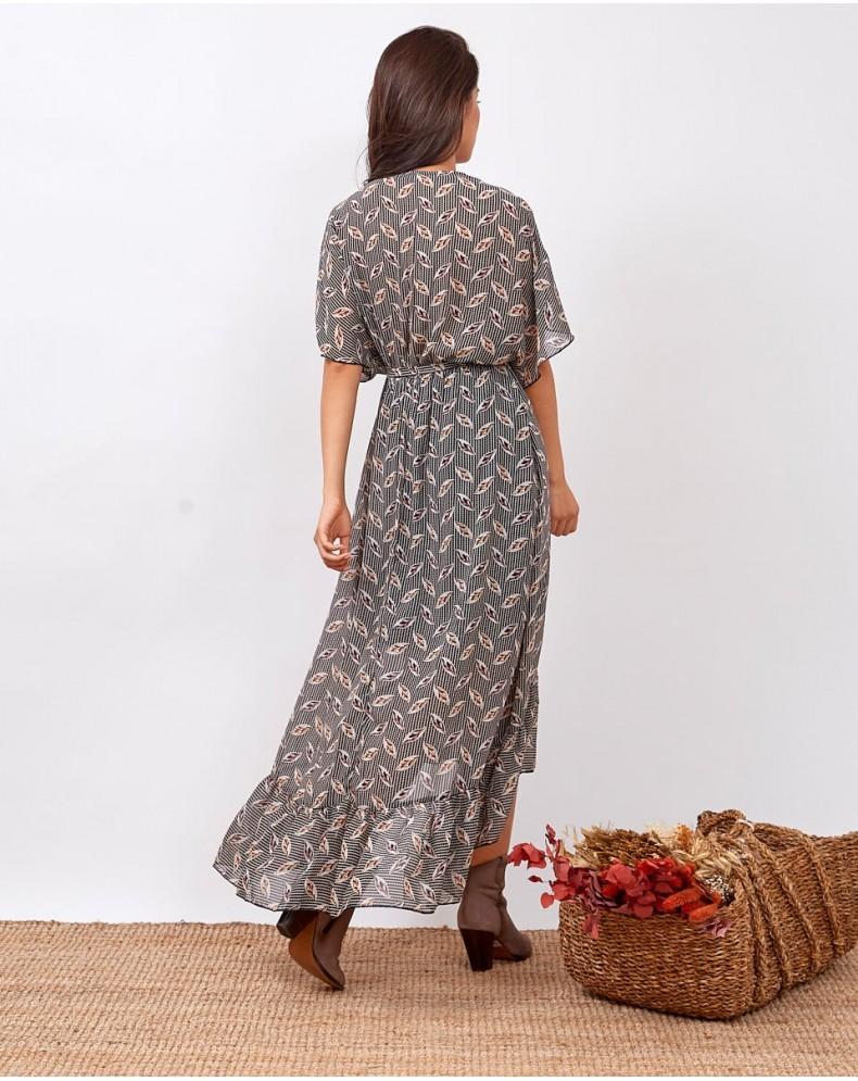 Vestido largo Chiasa