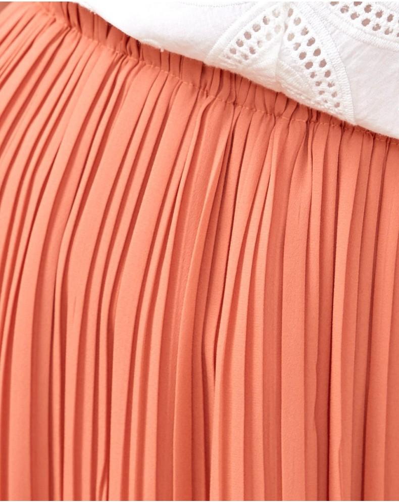 Falda plisada Delphos