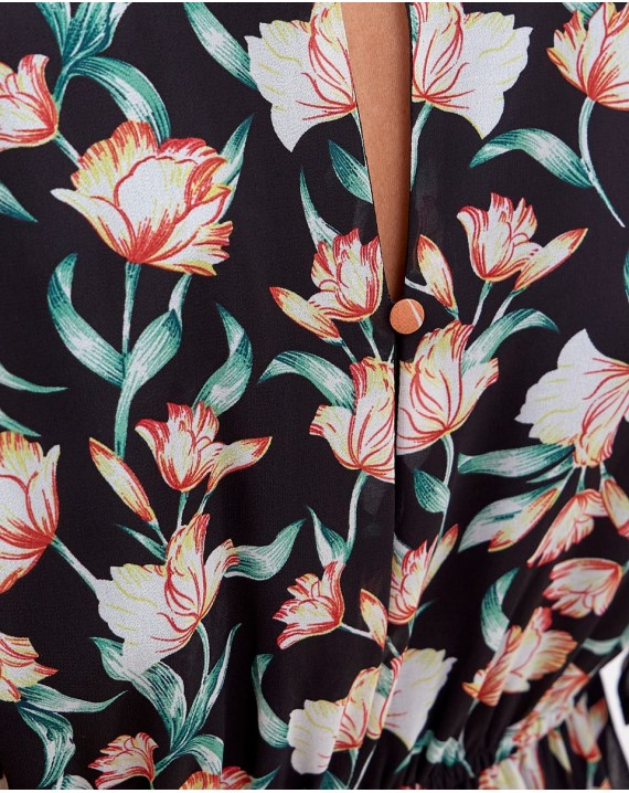 Vestido tulipanes
