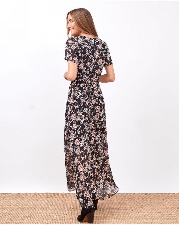 Vestido envolvente Narciso
