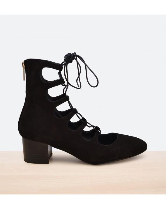 Zapato Abotinado Gradiador Ante