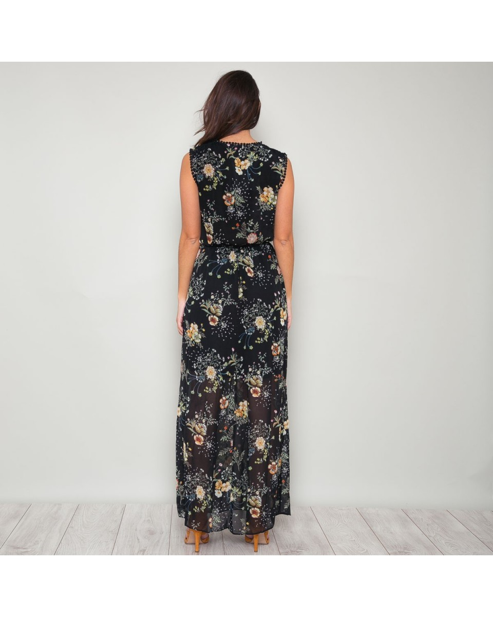 e668df10361 Vestido largo flores de estilo boho Compra vestidos largos de flores