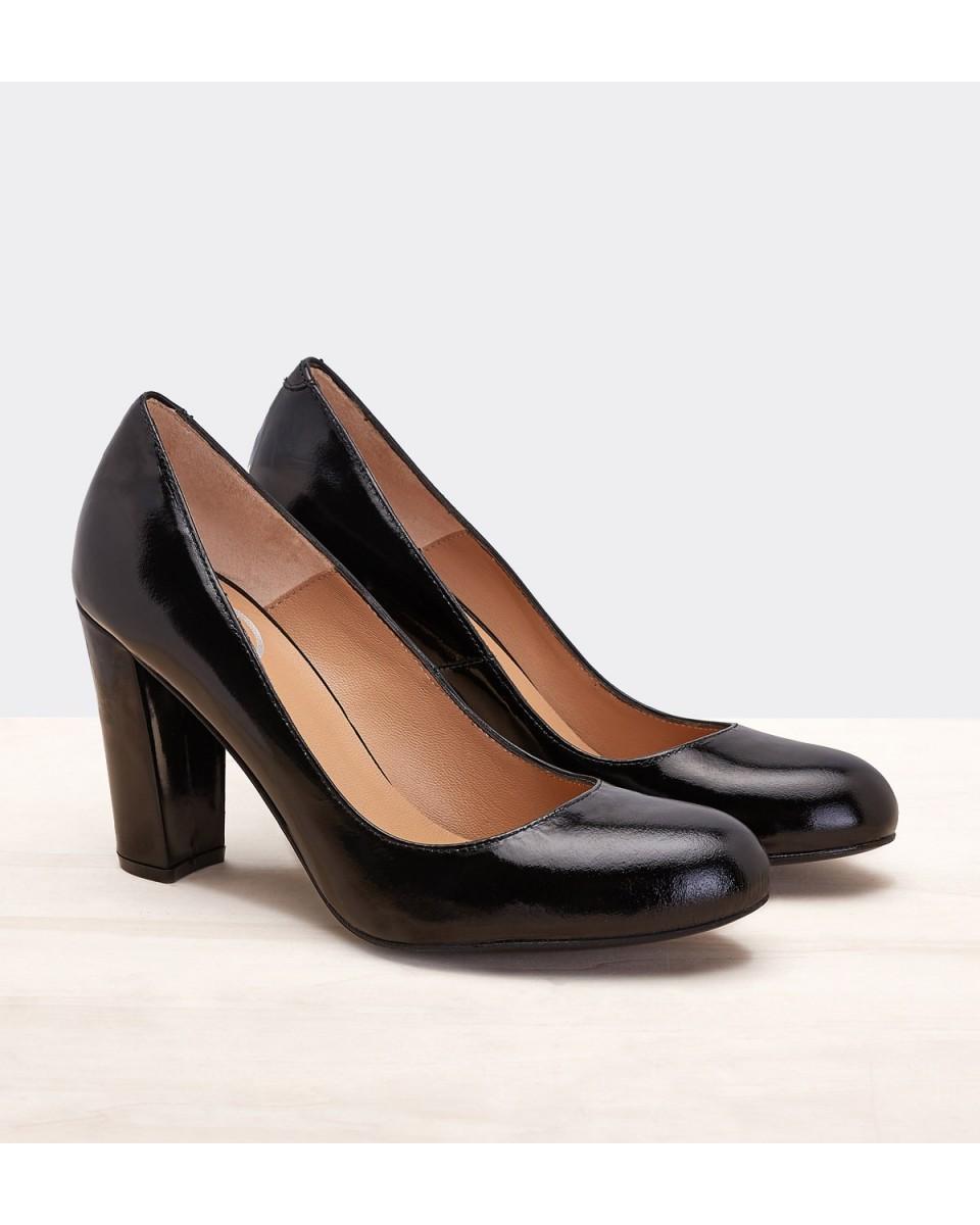 Zapato De Tacon Ancho
