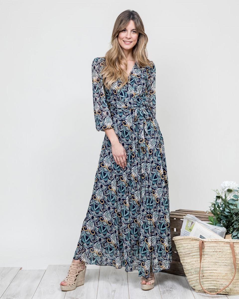 Vestidos largos estampados online